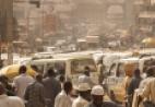Kampala Uganda street scene